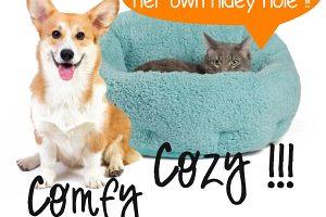 OrthoComfort Deep Dish Cuddler Pet Bed