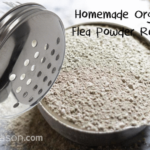 3 Ingredient Homemade Organic Flea Powder Recipe