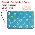 Caution! Electric Heated Pet Mats