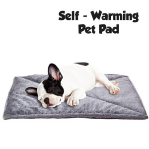 thermal self warming pet mat / pad