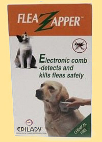 Flea Zapper comb for dogs and cats