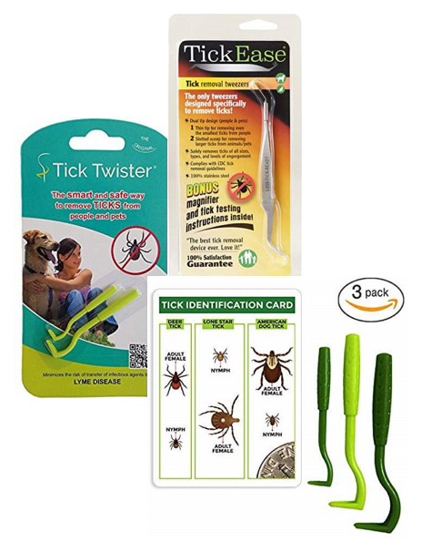 Tick Removal Tool the Tick Twister safely removes Ticks without spreading infectious material.